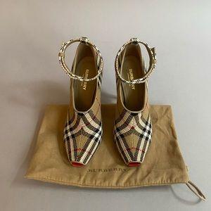 Burberry Check Heels